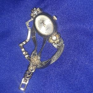 Vanity Fair Jewelry - VANITY FAIR GOLD & SILVER TONE RHINESTONE WATCH